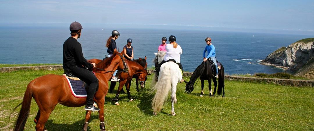 rutas a caballo en bilbao - vizcaya
